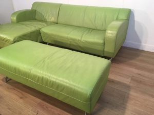 Real Leather Corner Sofa London