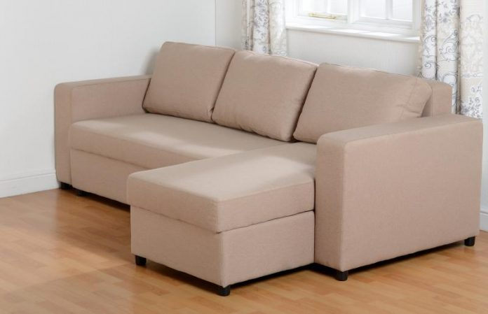 fabric corner sofa bed London UK