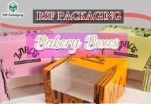 Custom Printed Bakery boxes