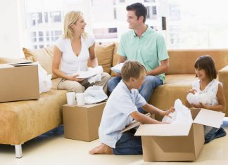 residential moving london