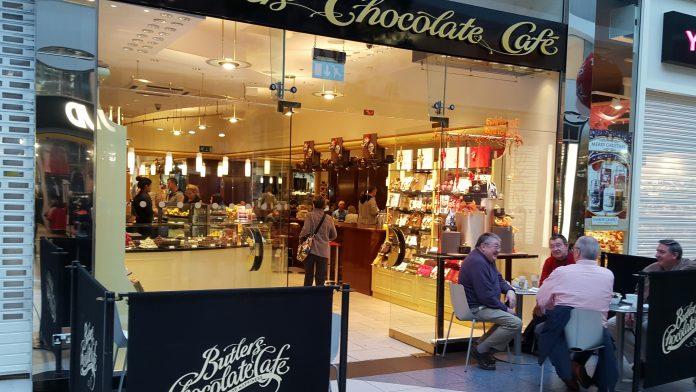 Shopfronts in Birmingham