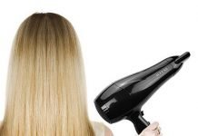 Hair Dryer/Blower Pro Styler Healthier Hair with Less Static Double Safely Net