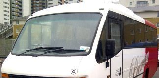 minibus day hire in London