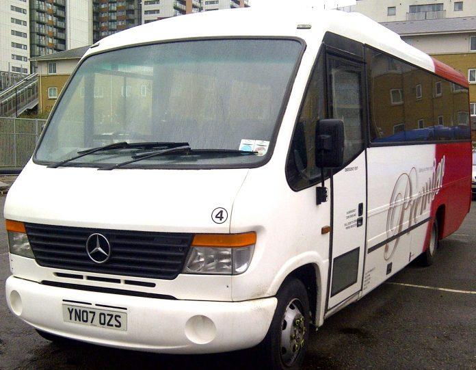 minibus day hire in London