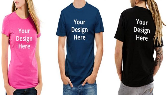 personalised t-shirt printing
