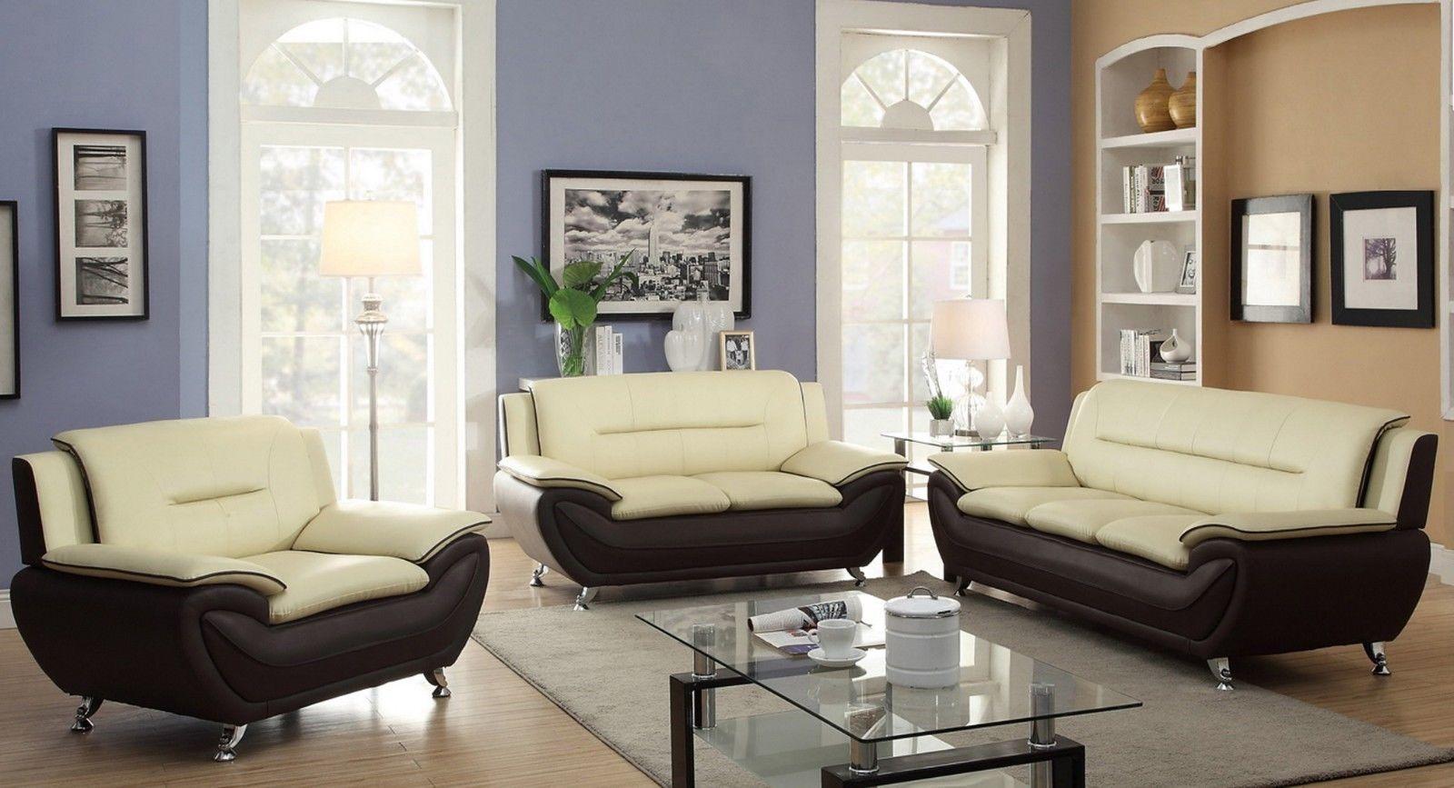 Gia Modern Luxury 3 2 1 Seater Sofa Set