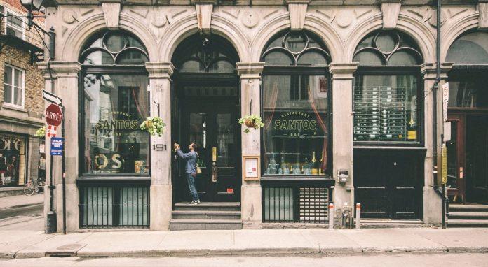 shopfront in the UK