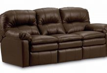 Manual Recliner Sofas Leather