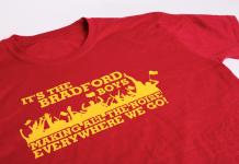 t shirt printing Bradford
