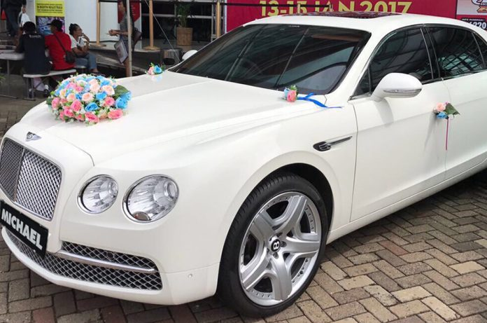 wedding car Birmingham