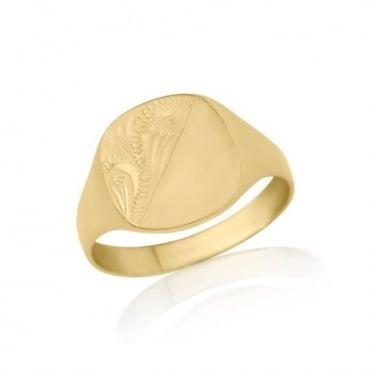Gold Signet Rings
